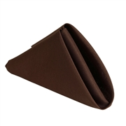 Chocolate Polyester Napkins