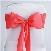 Coral Chair Sash