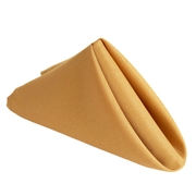 Gold Polyester Napkins