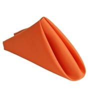 Orange Polyester Napkins