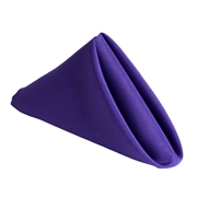 Purple Polyester Napkins